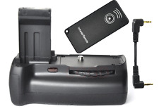 Battery Grip for Canon 100D Rebel SL1 + IR remote + Signal Transferring Cable