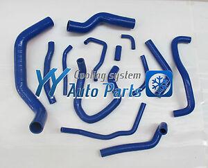 Silicone Heater Hose Kit For Nissan Silvia S13 SR20DET Blue