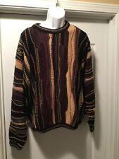 Mens TUNDRA Canada Multi Color Crew Neck Sweater Size Large