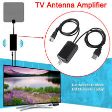 HD TV Antenna Aerial HD Digital TV Signal Amplified Booster &Cable Channel 25DB