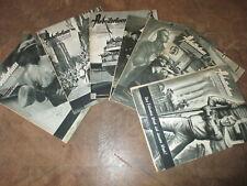 7 x Zeitschrift Arbeitertum 1936