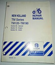 New Holland TM120 TM130/140/155/175 TM190 Tractor ENGINE & CLUTCH Repair Manual