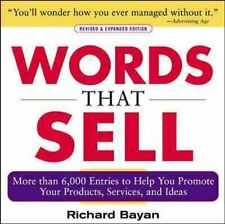 Words that Sell, Revised and Expanded Edition by Richard Bayan 9780071467858