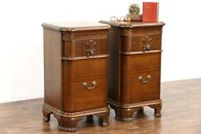 Mahogany Traditional Nightstand Antique Furniture