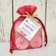 Campfire Tealight 4-Pack
