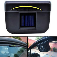 Portable Solar Powered Car Window Exhaust Fan Auto Ventilator Air Vent Vehicle