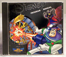 Buzz Lightyear of Star Command Action Game (PC, 2001 Disney/Pixar)