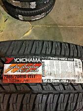 4 New 265 70 16 Yokohama Geolandar A/T G015 Tires