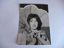 FOTOGRAFIA CARTOLINA IN BIANCO E NERO MINA FINE ANNI 1950 CIRCA N.628