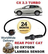 FOR MAZDA CX7 2.3 DISI TURBO 2007-09 REAR LOWER POST CAT 02 OXYGEN LAMBDA SENSOR