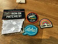 Tommy Hilfiger Patches, Iron On Patches, Neu Original