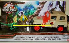 JURASSIC WORLD PARK Legacy Collection DENNIS NEDRY GETAWAY PACK Jeep Dinosaur