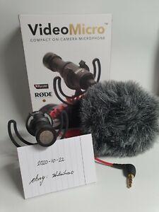 Rode VideoMicro Richtmikrofon - einwandfrei, Originalzubehör und OVP vorhanden