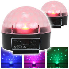 2x Beamz Colour Wash LED Jelly Ball Disco DJ Lights House Party Club Lighting