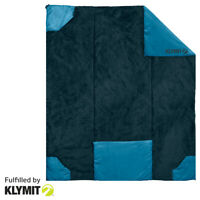 KLYMIT Versa Luxe Camping Travel Blanket and Converts to a Pillow - REFURBISHED