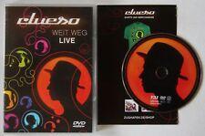 Clueso Weit Weg Live GER DVD 2007 186 Min. Live + Doku + Specials