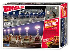 1:48 espacio: 1999 área de residuos nucleares 2 Diorama con Bono 1:24 Modelos Moon Buggy