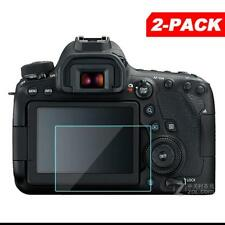 2x Tempered Glass Screen Protector for Canon EOS 6D Mark II / EOS 6D MK2 Camera