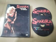 Shakira En Vivo Y En Privé CD Y DVD