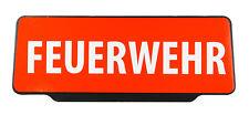 FEUERWEHR - Einsatzschild   Dienstschild   + Black Edition +