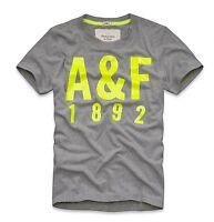 Abercrombie & Fitch Men Emmons Mountain Moose Crew-Neck T-shirt Size: S, M & L