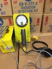 VICTOREEN CD V-700 MODEL 6B RADIATION DETECTOR/GEIGER COUNTER w/HEADSET (108459)