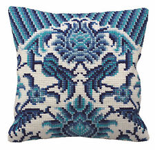 Collection D'Art - Cross Stitch Cushion Front Kit - Zelliges - Left - CD5114