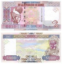 Guinea 5000 Francs 2012 P-41b Banknotes UNC