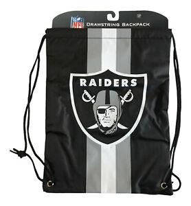 Las Vegas Raiders Official NFL Drawstring Backpack Bag