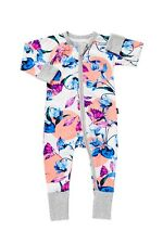 BONDS  ZIP WONDERSUIT OPTIFLORAL BNWT SZ 2 FREE POST (B87)