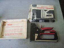 Vtg. Sears Craftsman Heavy-Duty Staple Tacker #9-6844 in Original Box-VeryShabby