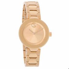 Movado Bold 3600387 Unisex Watch - Rose Gold