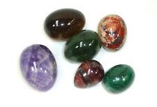 Posten Eier Halbedelsteine Malachit Onyx Aragonit Amethyst