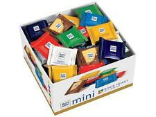 1400g Box Ritter Sport Mini Chocolate Bars Individual 84 Pieces in 7 flavours