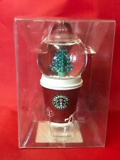 Starbucks 2006 Holiday Snow - Globe Ornament To - Go Cup (236292)
