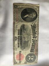 Series 1917 Us $2, Dollar Bill, Paper Money, Large Note