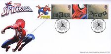 GB 2019 - Spiderman Smilers - 50th Anniversary Special Hand Stamp Cover