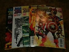 Marvel Zombies 2 LOT, 2008, #'s 1-5, Avengers, Thor, Iron Man