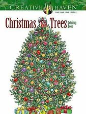 Adult Coloring: Creative Haven Christmas Trees Coloring Book by Barbara Lanza (…