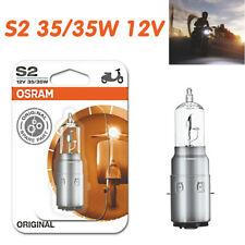 Osram S2 35/35W 12V Ba20d Original Standard Motorrad Lampen E-geprüft 64327-01B