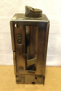 Johnson Fare Box Co. Chicago Pat. 1465409 Single Chamber Coin Changer Vintage