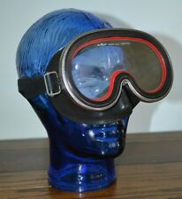 Vintage Retro Mondiad Scuba Diving/Snorkelling Mask! AMF Tempered Glass FREE DEL