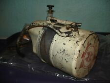 Montgomery Ward wd75 gas oil tank and caps    chainsaw part only bin 303