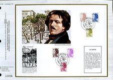 DOCUMENT CEF PREMIER JOUR 1982  TIMBRE  N° 2239 A 2244 MARIANNE LIBERTE