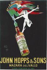 Original vintage poster JOHN HOPPS MARSALA APERITIF 1923