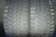 2 x Bridgestone Blizzak LM-25V 245 40 19 94V