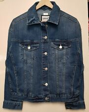 Women`s New Stretch Soft Denim Jacket UK Size 8-10-12-14-16-18-20-22-24