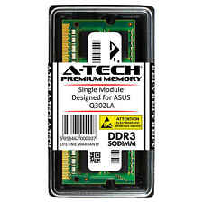 A-Tech 8Gb Ddr3 1600 Mhz Pc3-12800 1.35V 2Rx8 Sodimm Memory Ram for Asus Q302La