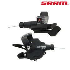 Sram X4 Trigger Shifters Set 8 Speed Mountain Bike 24Speed 3x8 Speed