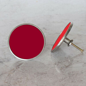 Decorative Red Cupboard Cabinet Door Knobs Handles Pulls In Shades of Red